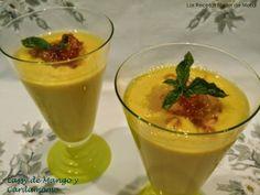 Las Recetas Fáciles de María: Lassi de Mango y Cardamomo, Bebida India