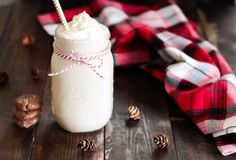 This Gingerbread Breakfast Smoothie tastes exactly like a gingerbread cookie, but it's vegan, gluten-free and full of good-for-you ingredients.
