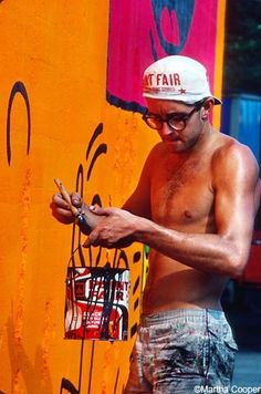 What a wonderful life cut short.  Keith Haring you are an inspiration to all and I know you would have continued to do amazing things. R.I.P.