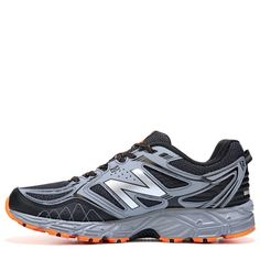 9bdf1ecca90 New Balance Mens 510 V3 Trail Running Shoes (Black Grey Lava) -