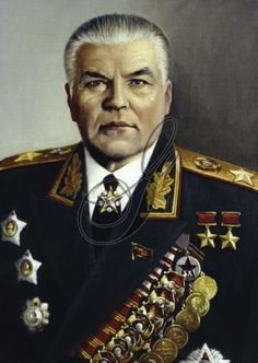 Rodion Malinovsky Marshal of the Soviet Union (Sept 1944) born November 23, 1898