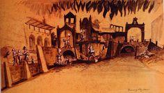 Disney and more: Marc Davis Pirates of Caribbean original artwork - Part Three Disneyland World, Vintage Disneyland, Marc Davis, Walt Disney Imagineering, Disney Fine Art, Disney Rides, Disney Concept Art, Disney Posters, Disney California Adventure