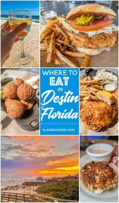 Where to Eat in Destin, FL - Sandestin, FL