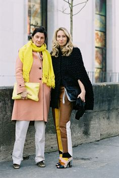Vanessa Jackman: Paris Fashion Week AW 2013....Friends
