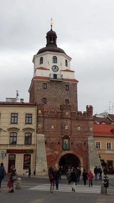 Church in Lublin old town, Poland