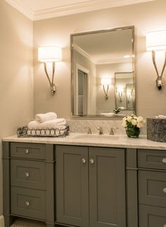 Single sink large vanity