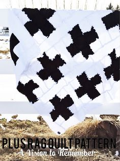 plus rag quilt pattern for sewing