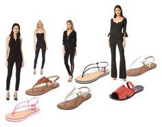"""Black Fashion"" by ramakumari ❤ liked on Polyvore featuring Moschino, Melissa, Sam Edelman, Prabal Gurung, Noam Hanoch and Veronica Beard"