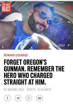 This former Fort Bragg soldier is the hero we recognize in the #OregonShooting http://www.thedailybeast.com/articles/2015/10/02/forget-oregon-s-gunman-remember-the-hero-who-charged-straight-at-him.html …