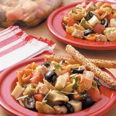 Tortellini Chicken Salad Recipe -You can substitute any type of cheese tortellini. Since this salad needs to chill, plan ahead.