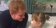 Ed Sheeran Surprises 9-Year-Old Fan Who Spends Most Of Her Life In Hospital