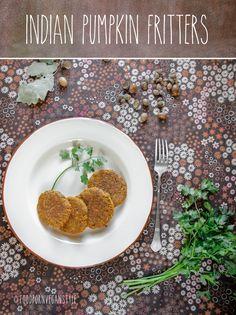 Placki z dyni po indyjsku / Indian pumpkin fritters