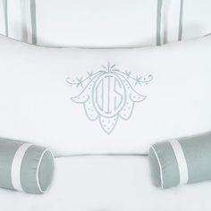 Delcambre Monogram | Leontine Linens