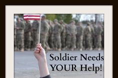 Help support  #Soldier in #military and His Family of 6!