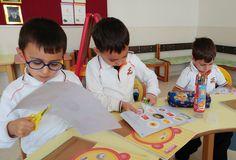 """Anasınıfı öğrencilerimiz ile """"Cumhuriyet ve Atatürk"""" temalı kolaj çalışması etkinliği yapıldı."""