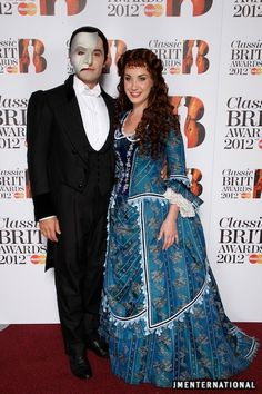 Ramin & Sierra after the show at the Classic BRIT Awards 2012