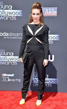 Alyssa Milano from 2013 Young Hollywood Awards | E! Online