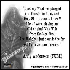 ‪#‎wahcko‬ ‪#‎wahckoplus‬ ‪#‎andyandersson‬ ‪#‎fuelband‬ ‪#‎jampedals‬ ‪#‎userquote‬ User Quotes, I Got This, The Originals, Memes, Meme