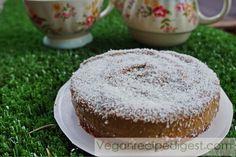 Delicious Vegan Chai Cheesecake, perfect with tea!  Recipe from veganrecipedigest.com