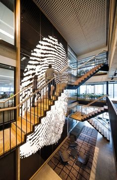 Aecom Sydney Workplace – BVN Architecture Image: John Gollings