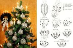 Best 12 Hello friends of free crochet. See Christmas decorations in crochet to leave his most charming Christmas – Page 852869248153275233 – SkillOfKing. Crochet Christmas Ornaments, Christmas Crochet Patterns, Crochet Snowflakes, Christmas Bells, Christmas Tree Decorations, Christmas Tree Ornaments, Christmas Time, Christmas Crafts, Xmas