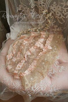 Gorgeous Lace Bonnet~❥