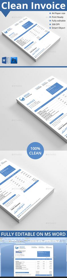 Invoice Template PSD. Download here: http://graphicriver.net/item/invoice/14619045?ref=ksioks