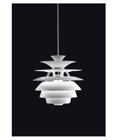 Kitchen- a beautiful design by Poul Henningsen- the Snowball light. This timeless piece provides glare free light, a fabulous wow factor and is half the cost of the Artichoke.
