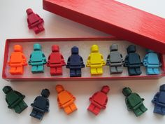 Kids' EASTER BASKET Lego Crayons in a Box and Ready to Give This Easter.. $8.00, via Etsy.