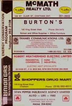 Vernon's city of Chatham (Ontario) directory 1983