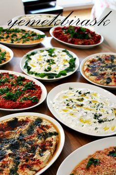 yemek bir aşk: meze meze meze a love of cooking: appetizer appetizer appetizer Pasta Recipes, Salad Recipes, Cooking Recipes, Healthy Recipes, Meze Recipes, Appetizer Salads, Appetizer Recipes, Turkish Recipes, Ethnic Recipes