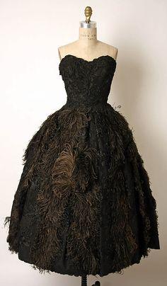 Vintage Dress 1950s James Galanos #retro #vintage #feminine #designer #classic #fashion #dress #highendvintage