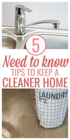 5 Need To Know Tips For A Cleaner Home