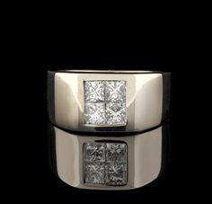 452e785f419 Right hand men s rings are making a comeback. 66mint - Fine Estate Jewelry