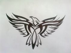 27 Best Tribal Eagle Tattoo Images Tribal Eagle Tattoo Tribal