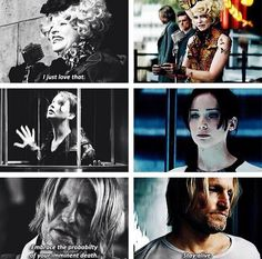 The contrast between The Hunger Games and Catching Fire