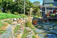 lovely stone terrace: Mariposa Gardening & Design LLC - Berkeley, CA | Oakland, CA