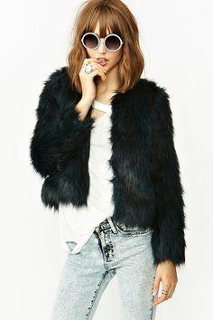Rutilda Faux Fur Coat   http://www.nastygal.com/clothes-outerwear/rutilda-faux-fur-coat#