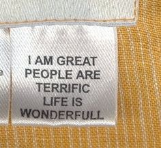 put these in your clothes to encourage happiness