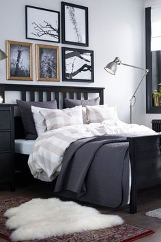 Getting a good night's sleep is no problem when you have cozy linens to curl up in. A pretty duvet cover, like the IKEA NYPONROS duvet cover, can help to personalize your space to match your style.