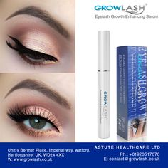 Check the #results of using our GROWLASH EYELASH GROWTH ENHANCING SERUM