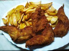 Rántott nyúl Chicken, Meat, Food, Eten, Meals, Cubs, Kai, Diet