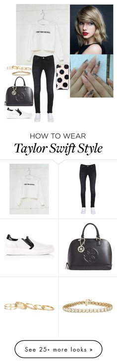 """""""Untitled #846"""" by fatyhnrqz94 on Polyvore featuring Bershka, Tommy Hilfiger, GUESS, Kendra Scott and Kate Spade"""