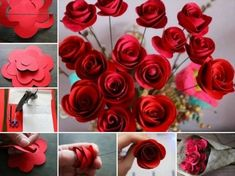 How To Make Gorgeous Paper Roses Perfect For Bouquets | The WHOot