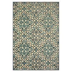 Anchor your living room seating group or define space in the den with this loomed art silk rug, featuring a scrolling medallion motif for eye-catching appeal...