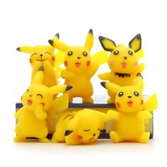 2016 New Pokeball Go 6pcs/lot Japanese Anime PVC Cute Pikachu Action Figure Toys Collector's Edition Model Kids Birthday Gifts  //Price: $US $3.47 & FREE Shipping //     #gameofthrones #gameofthronestour #gameofthronesfamily  #starks