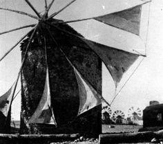 OLD WINDMILL IN TAMBAKIKA  CHIOS ISLAND  1928