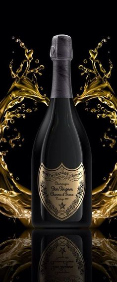 Editing Between Champagne Showers & Poppin' Bottles, Dom Perignon Stands… Champagne Taste, Champagne Bottles, Liquor Bottles, Champagne Glasses, Champagne Dom Perignon, Don Perignon, Or Noir, Bottle Packaging, Sparkling Wine