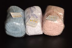 Cellular Cotton Blanket Baby Wrap Pram Cot 70 x 90cm White Blue Pink Soft Touch