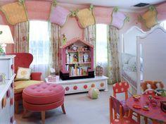 Fun little girls' room